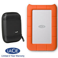 LaCie 301558 Rugged Portable 1TB Hard Drive,USB 3.0/USB 2.0,Carry Case,WARRANTY