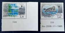 FINLAND - STAMPS,1986 Europa, Birds, Seal
