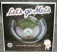 LET'S GO METS 1964 OFFICIAL NEW YORK METS ALBUM SIGNED BY STENGEL MURPHY MCGRAW