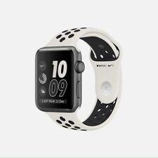 NikeLab Nike+ Apple Watch Series 2 38mm Aluminum Light Bone/Black NIB Sealed