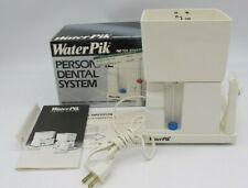 Vtg 1987 Teledyne WaterPik Oral Irrigator Personal Dental System WP-20W TESTED