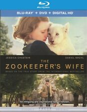 The Zookeeper's Wife (Blu-ray Disc ONLY, 2017)