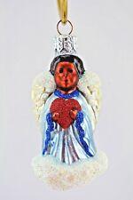 Patricia Breen 1998 Christmas Ornament Quartet of Angels Black Angel Item 9834