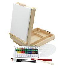 Paintersisters Tischstaffelei Malset - 21-teilig