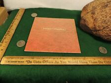 JAMES UPSHALL Retailers Catalog  IN COLOR BEAUTIFUL PHOTOGRAPH  5 PAGES Mr-Tvf