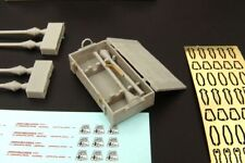 Hauler Models 1/35 GERMAN PANZERFAUST WITH BOXES Resin & Photo Etch Set