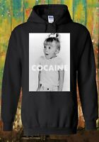Cocaine Drugs High Funny Cool Retro Men Women Unisex Top Sweatshirt Hoodie 1337