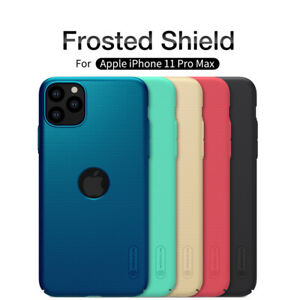 Case For iPhone 11 / Pro / Max Nillkin Slim Matte Hard Back Best Cover Shield