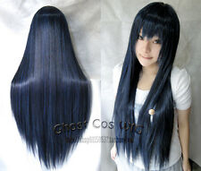 "New Fashion 32"" Long Straight Cosplay Fashion Wig 23 Colors Heat Resistant 80cm"
