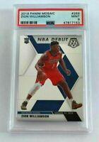Zion Williamson Mosaic RC PSA Mint 9 New Orleans Pelicans #269 NBA Debut Rookie