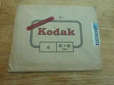 """1940s? KODAK BROMESKO 64Z PHOTOGRAPHIC PAPER  8.5 X 6.6"""" SEALED ENVELOPE"""