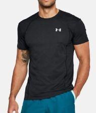 Under Armour Ua Swyft Running T Shirt Short Sleeve 1318417 Black Xxl #8421