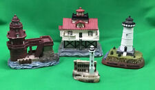 Lighthouse Mini Figures Scaasis Lot X 4 Ship John Shoal Alcatraz Edgartown Light