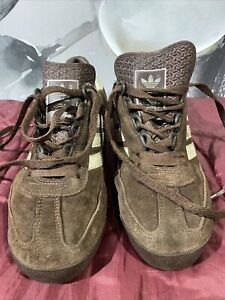 adidas sl 76  442415 Brown/coffee Size 7 US 6.5 UK ..04/08 Made In Argentina