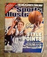 2002 Dallas Mavericks  DIRK NOWITZKI Signed 1st Sports Illustrated NO LABEL