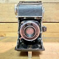 Vintage Balda Baldina 35mm Folding Camera With Radionar 50mm F2.8 Lens & Case