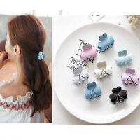 Fashion Elegant Mini Hair Claws Clamp Black Hairpin Sweet Hair Clips For Women
