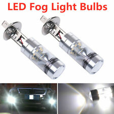 2x H1 HID LED Fog Light Bulbs Headlight Conversion Kit Super Bright 6000K White