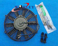 universal 7 inch 12V Slim Radiator Cooling Thermo Electric Fan & Mounting kit