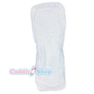 Cuddlz Terry Towelling Booster Pad For Adult Incontinence Nappies Nappy Diaper
