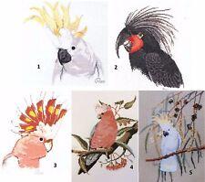 Oz Birds - 1 of 5 - Cross Stitch Chart -  Free Postage