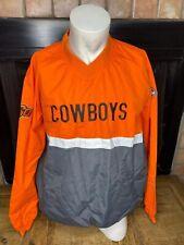 NCAA OSU Oklahoma State University Cowboys Franchise Club Pullover Windbreaker
