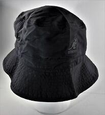 Vintage Kangol Hat Black Bucket Hat Size S/M