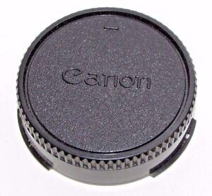 Canon Rear lens cap for FD manual focus Genuine OEM 50mm f1.8 f1.4 SC SSC