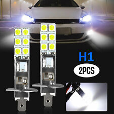 2X H1 6000K Super White 100W LED Headlight Bulbs Kit Fog Driving Light DRL Lamp