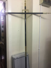 Bannerette poles for marching bands Brass also have silver in stock 7ft