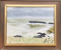 Naturalismus - Ocean View - Coast - Baltic Sea - Beach - Waves - Seagulls -