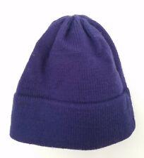 "Vermont Originals 100% Wool Hat - Blue ~ 21"" circumference - Excel Cond."