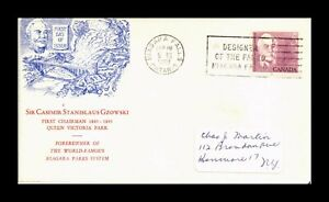 DR JIM STAMPS SIR CASIMIR STANISLAUS GZOWSKI FIRST DAY ISSUE CANADA COVER