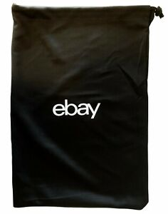 "ebay Bag Duster Dust Drawstring Bags Black Limited Edition 19"" by 14"""