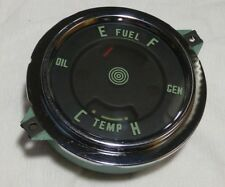 1955/1956 INTERNATIONAL HARVESTER S-SERIES PICKUP TRUCK FUEL/GEN/TEMP/OIL GAUGE