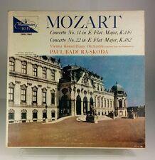 Paul Badura-Skoda/Vienna Konzerthaus/Mozart No 14 & 22 Westminster XWV 18661 EX