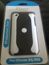 iCover IPHONE 3G 3GS COVER HARD CASE TWO TONE White / Black PROTECTIVE CASE