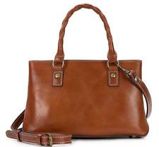 Patricia Nash Heritage Angela Tan Small Satchel Leather P18101