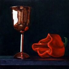 Stephen Kaldor painting, Still Life with Copper Chalice, original oil painting