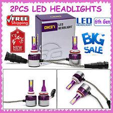 240W LED Car 9006 HB4 9012 Headlight Kit Replacement Bulb Lamp Hi Low Beam White