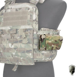 TMC Tactical Low Profile Admin Pouch Map Pouch Chest Hanging MOLLE Pouch Hunting