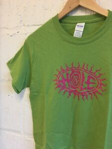 Hole Screen Printed t-shirt Size S Never worn Courtney Love