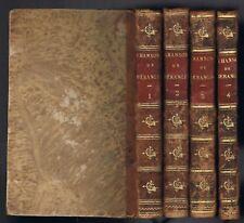 Chansons de BERANGER Illustré Editions PERROTIN en 4 Tomes Complets 1865 Epuisé