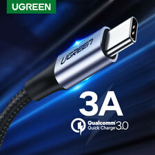 Ugreen USB Type C Cable 3A USB C Fast Charging Cable Data Cord Fr Xiaomi Samsung