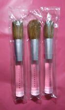 New & Sealed Sheer Cover Powder Foundation Blush Studio Brushes Acrylic Handle