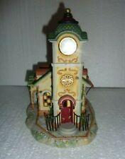 PartyLite Old World Village Collection The Clocktower P7887