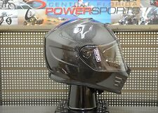 Simpson GHOST Bandit Gloss Carbon Motorcycle Full Face Helmet SIZE Large DOT/ECE
