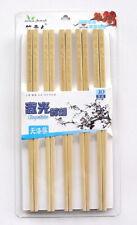 10 Pair Chopsticks Made From Natural Bamboo