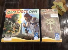 Orcs, Orcs, Orcs & Reinforcements Expansion Board Game New (Sealed) Bundle