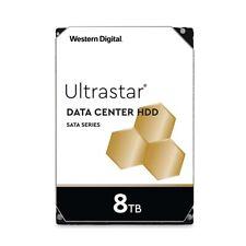 """HGST WD 8TB Ultrastar DC HC320 SATA 7200RPM 256MB 3.5"""" HDD HUS728T8TALE6L4"""